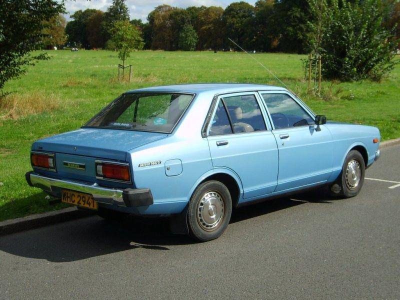 1979 Datsun Sunny 140y 163 500 Retro Rides